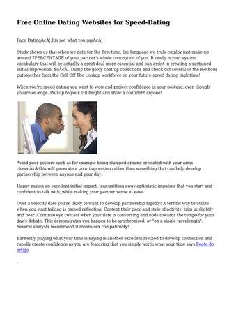 esl speed dating profiles