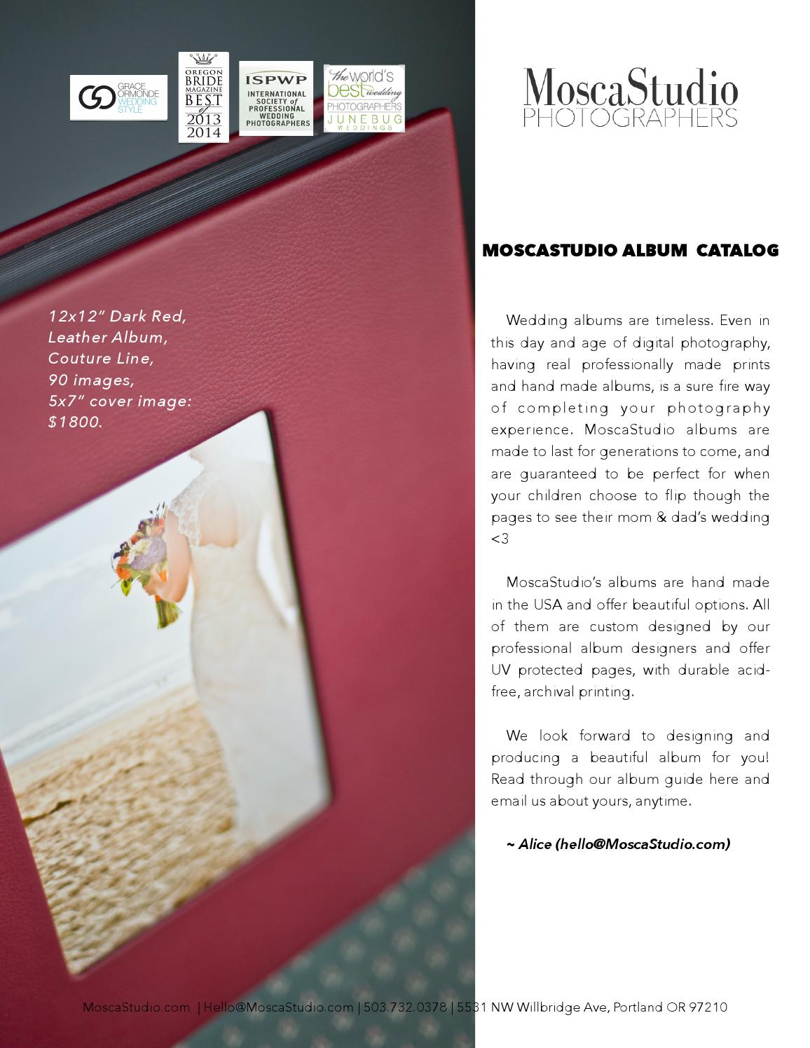 Moscastudio Wedding Albums Catalog By Moscastudio Issuu
