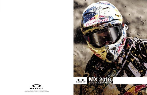 d43a167a5b9 Oakley MX16 Catalogue by Monza Imports - issuu