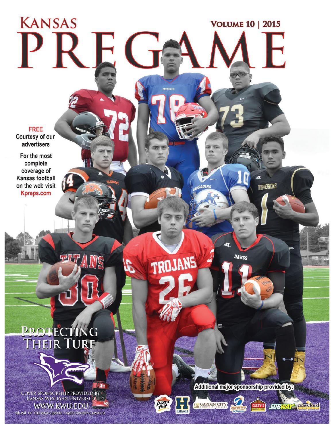 Kansas Pregame 2015 Volume 10 By Sixteen 60 Publishing Co
