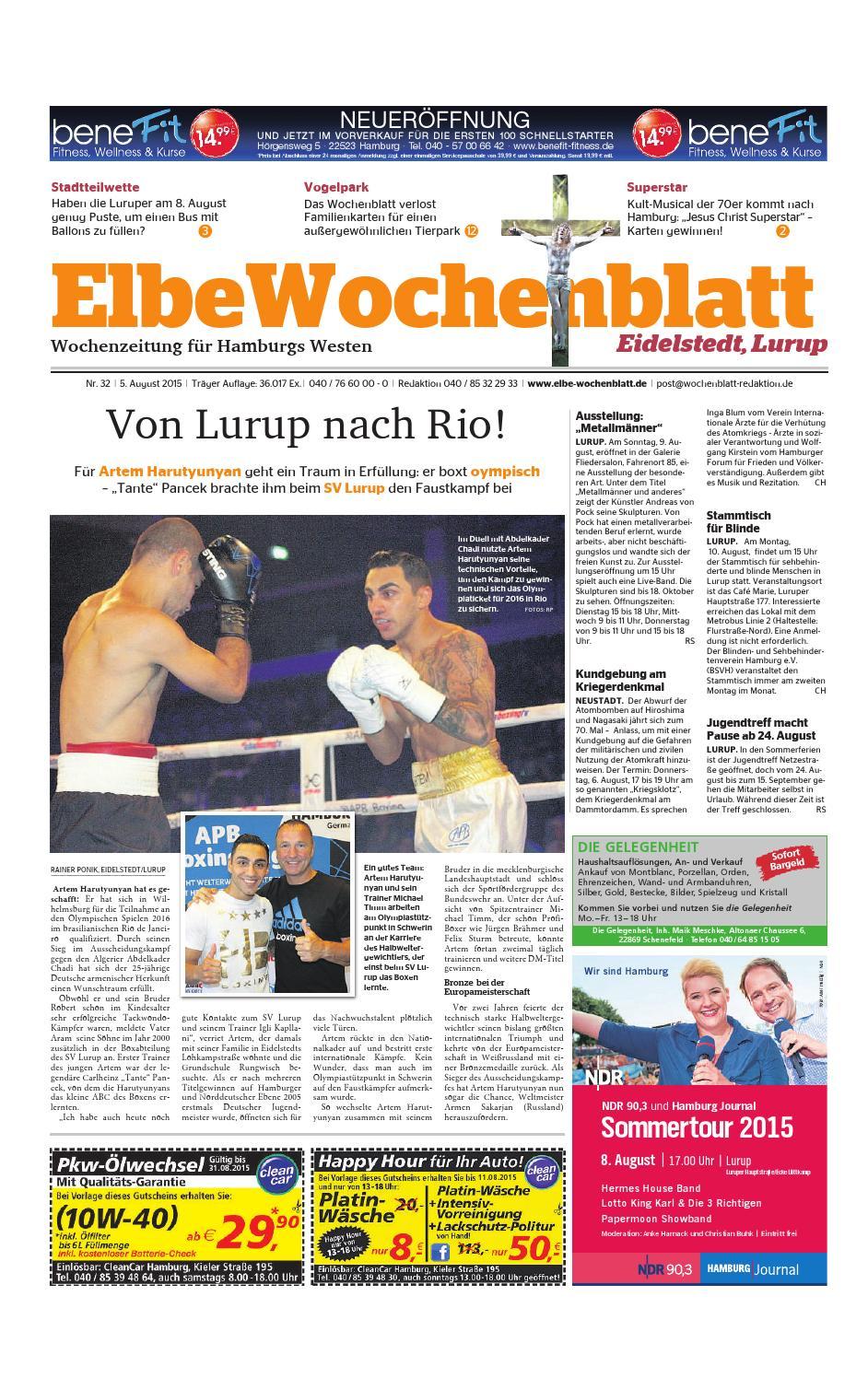 Eidelstedt KW32-2015 by Elbe Wochenblatt Verlagsgesellschaft mbH ...