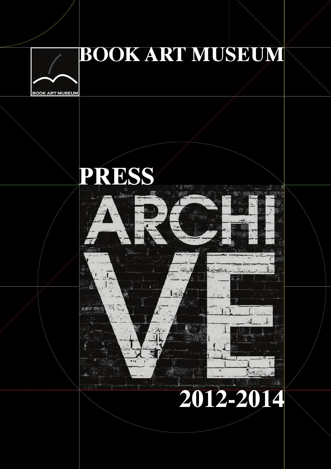 aba870b5d5 Book Art Museum. Press Archive 2012-2014 by Book Art Museum - issuu
