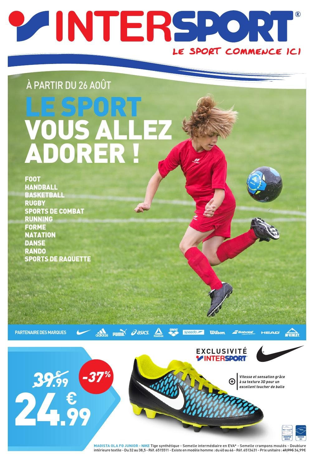 INTERSPORT Le Sport Vous Allez Adorer ! (28 pages) by