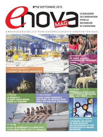 Enova Mag N 12 Septembre 2015 By Valerie Moullec Houdret Issuu