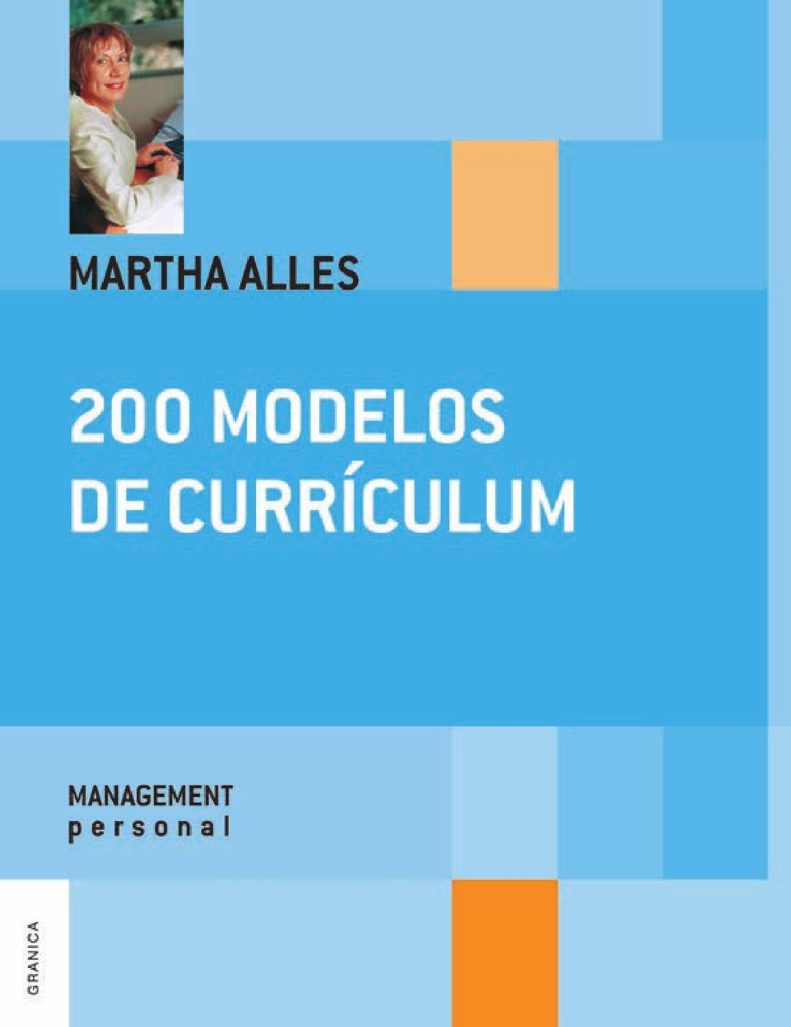 200 modelos de curriculum martha alles by Bill Goto - issuu