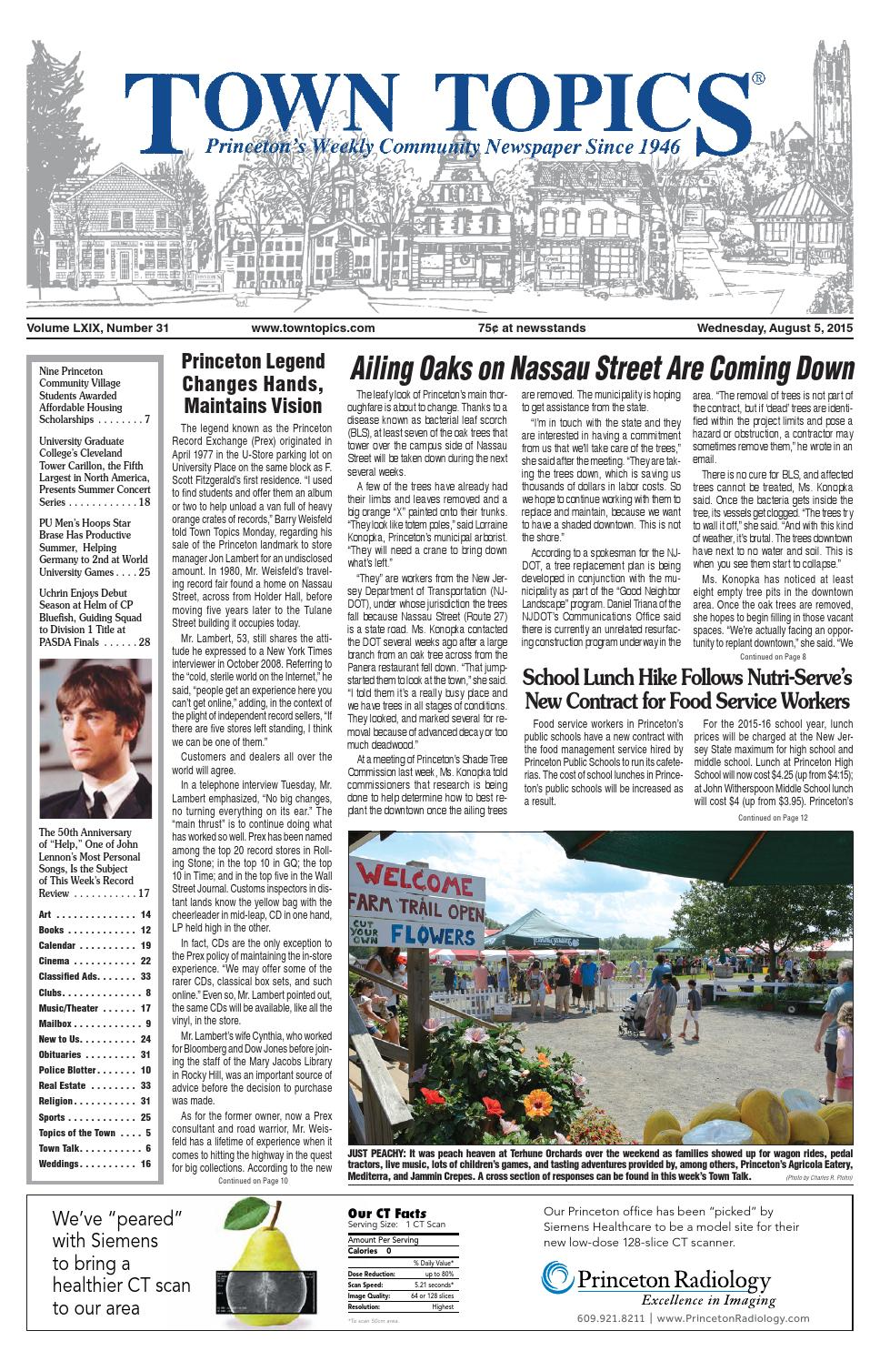 Town Topics Newspaper August 5 2015 By Witherspoon Media Group Issuu Solid State Relay 8211 Required Only 50ua Drive Current