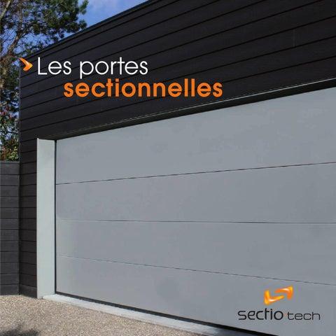 sectio tech book portes sectionnelles by xdao issuu ForPorte De Garage Sectio Tech