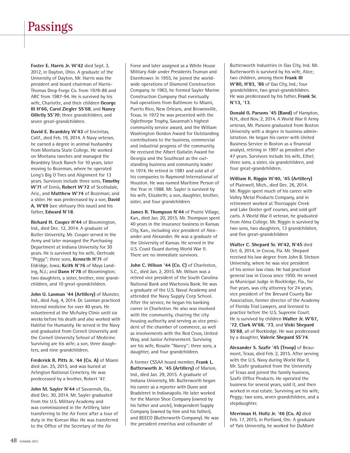 A-Mag Summer 2015 by Culver Academies - issuu