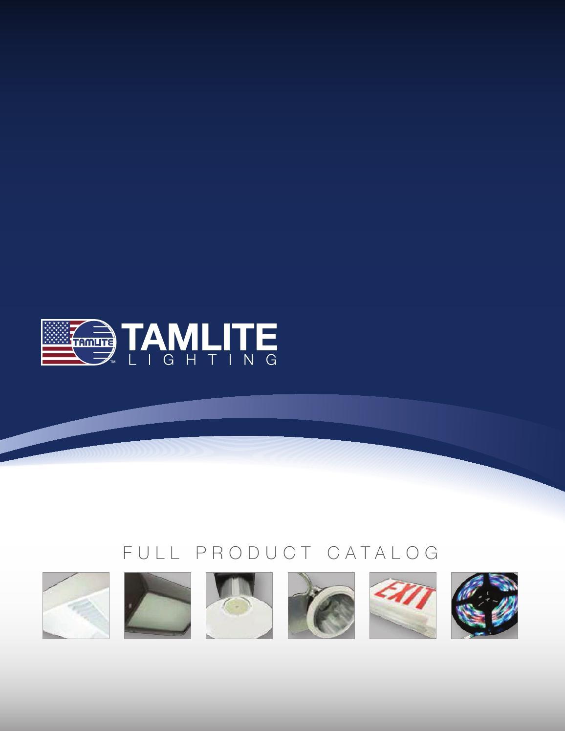 Tamlite Lighting Usa By Tamco Issuu
