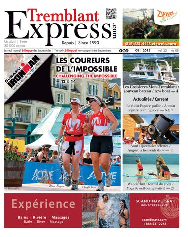 2015 08 tremblant express by Tremblant Express - issuu 40ded392124