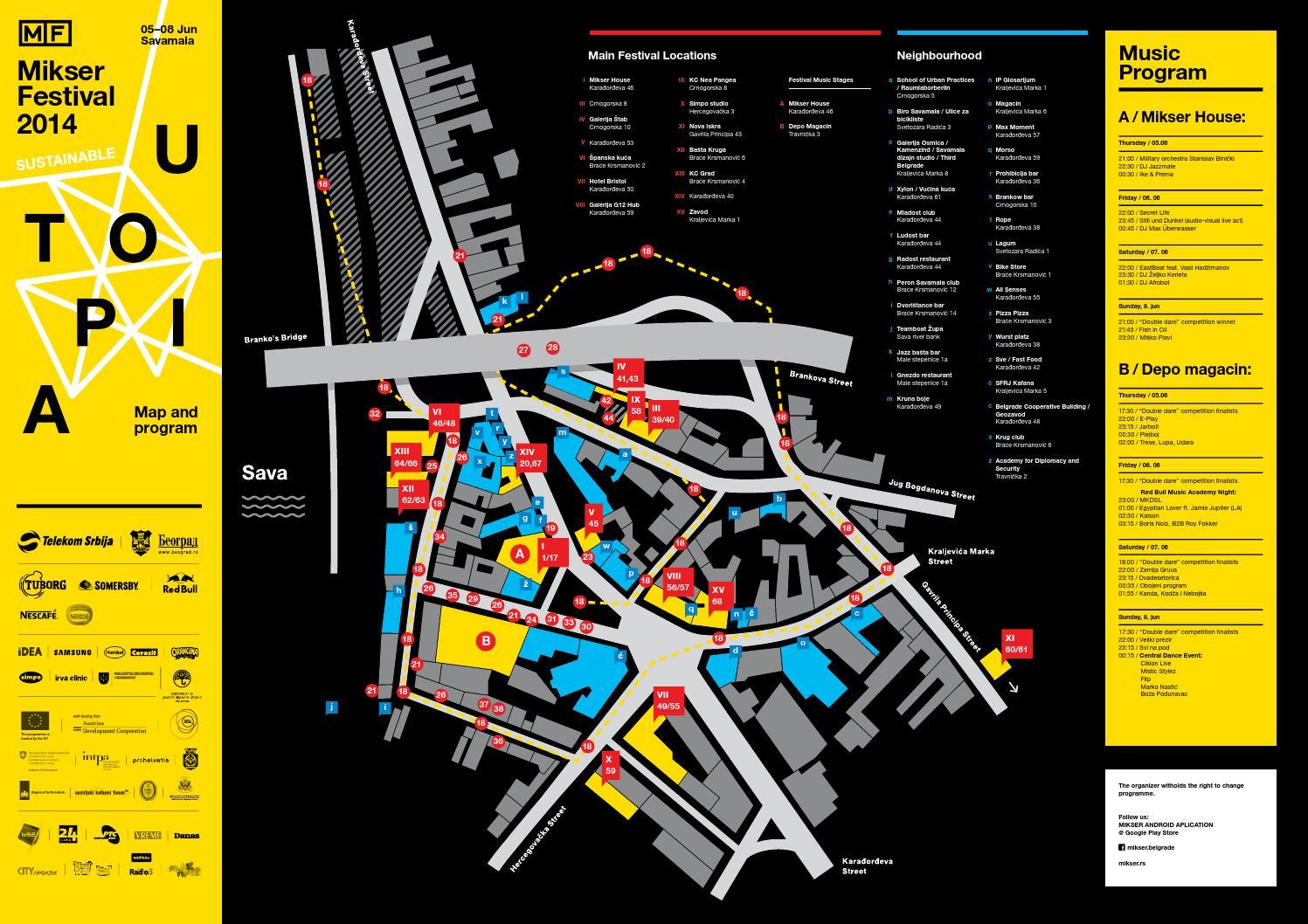 Program Mapa 2014 By Urban Cooks Issuu