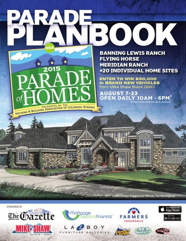 Colorado springs hba parade of homes by ptmd publishing issuu page 1 malvernweather Images
