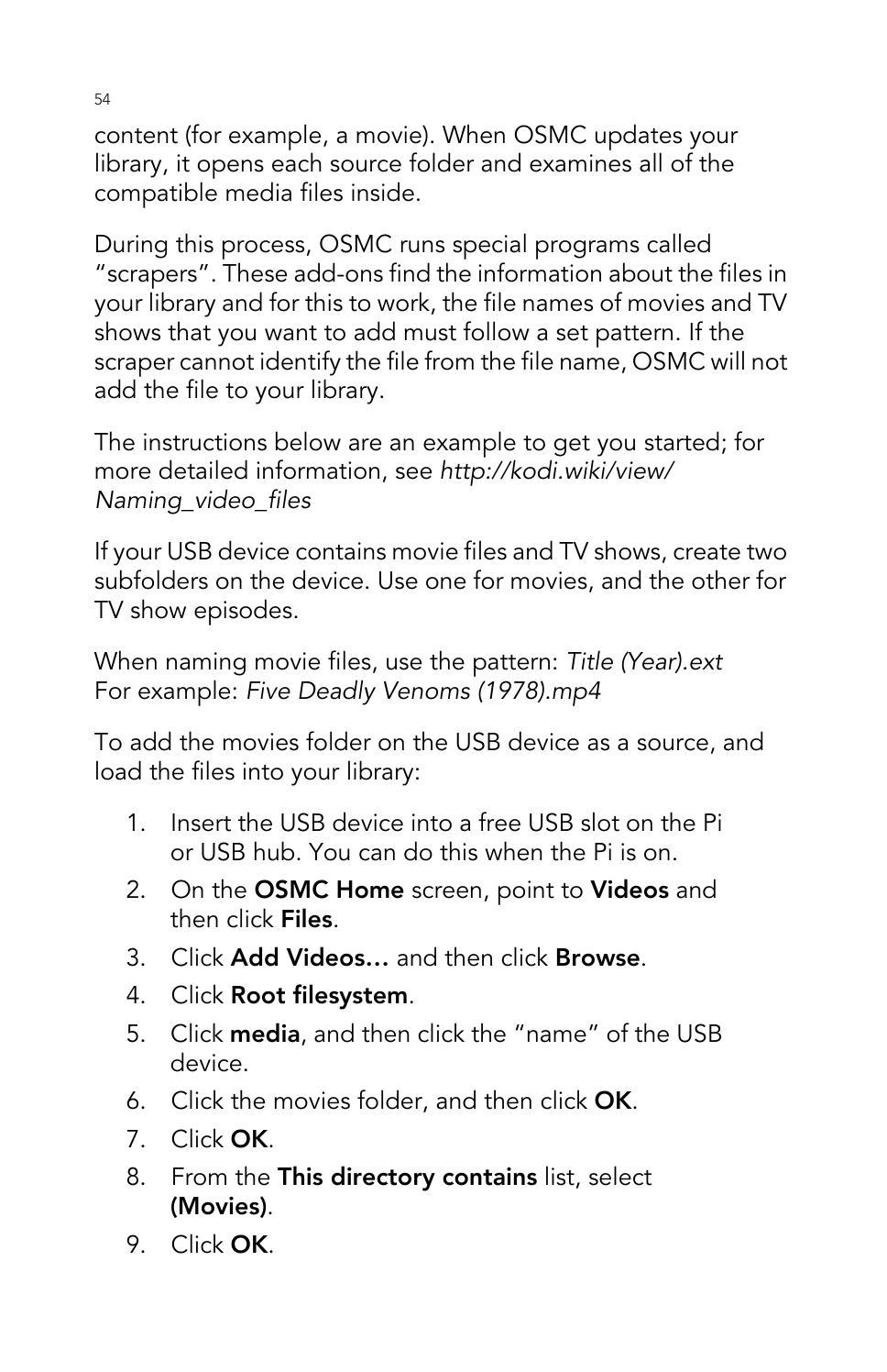 Vilros Raspberry Pi 2 User Guide