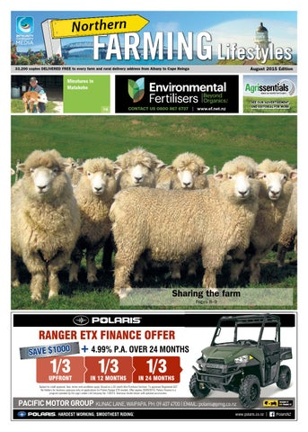 Northern Farming Lifestyles August 2015 By Northsouth
