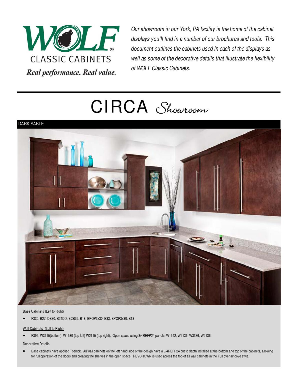 Wolf Classic Cabinets Showroom Displays Brochure By Rock Solid Imports Issuu