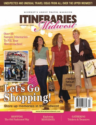 8111485e45 Itineraries Midwest Fall 2009 by Itineraries Midwest-Midwest Group ...