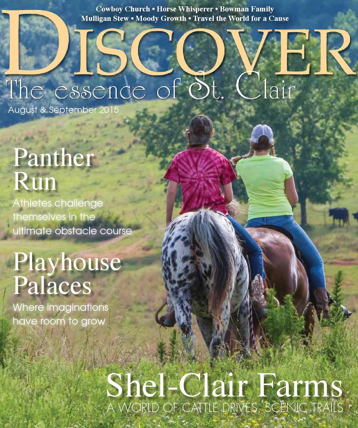 Alabama saint clair county odenville - Discover St Clair August September 2015 By Discover The Essence Of St Clair Issuu