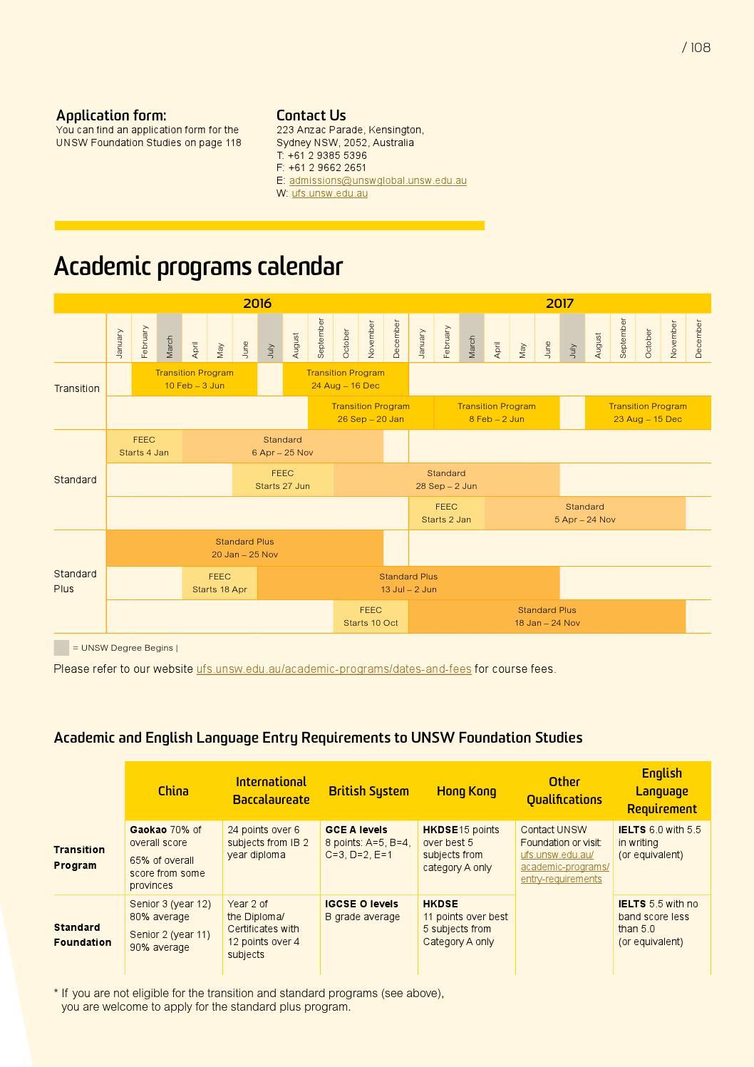 International Student Guide 2016 Undergraduate By Unsw Sydney