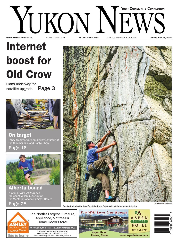 Yukon News July 31 2015 By Black Press Issuu