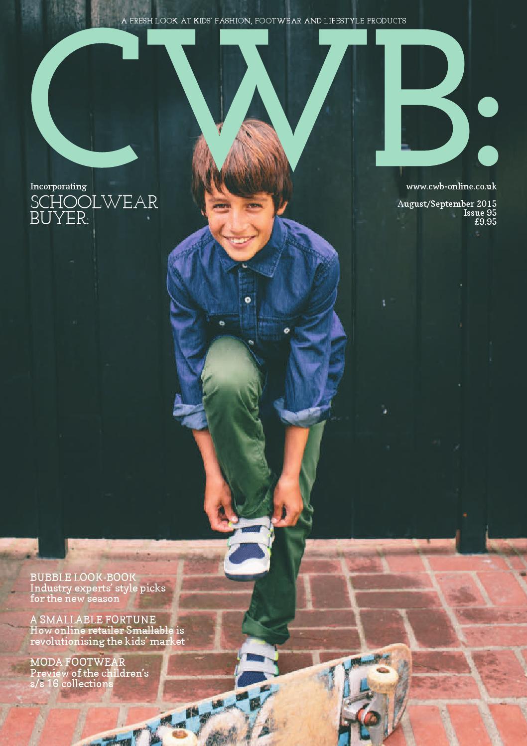 ad489f17ebdd CWB MAGAZINE AUGUST SEPTEMBER ISSUE 95 by fashion buyers Ltd - issuu
