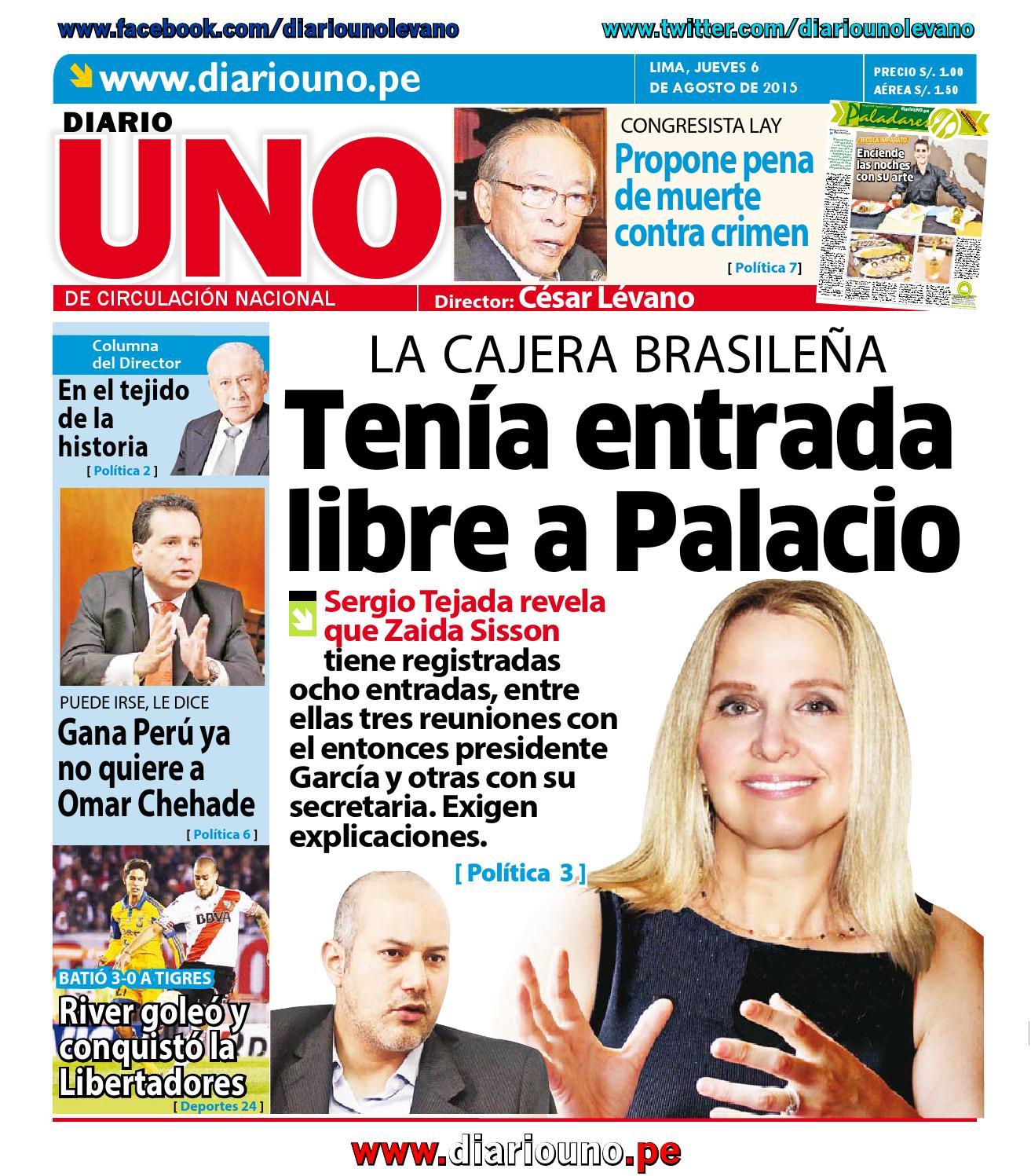 Diario UNO - 06 Agosto 2015 by Diario UNO - issuu