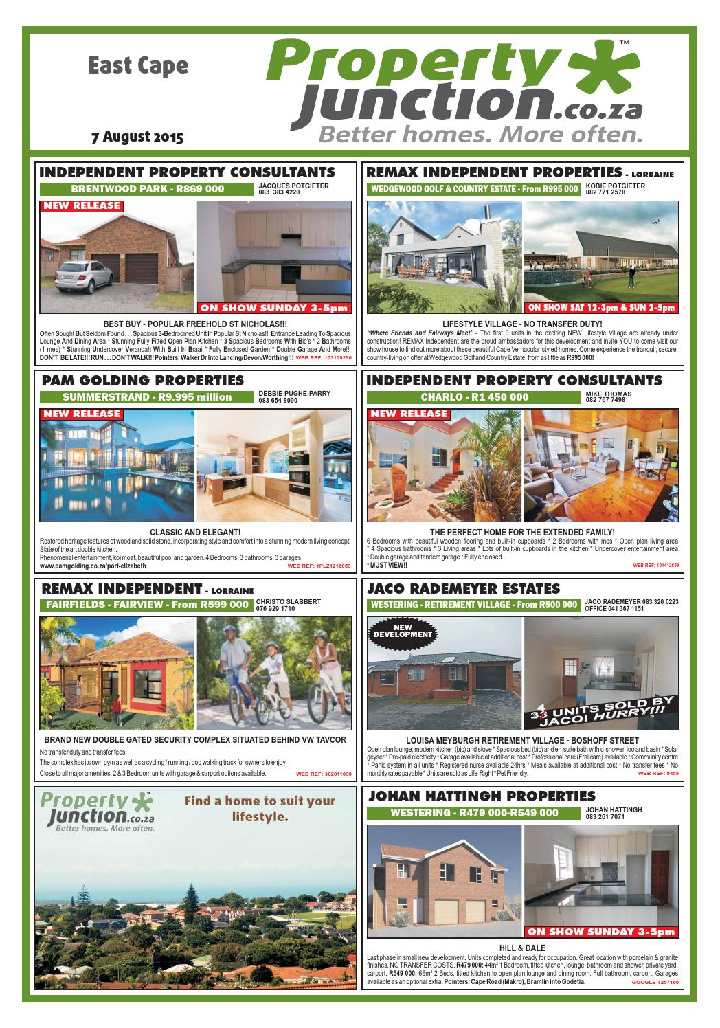 Eastern Cape 07 August 2015 By Propertyjunction Issuu