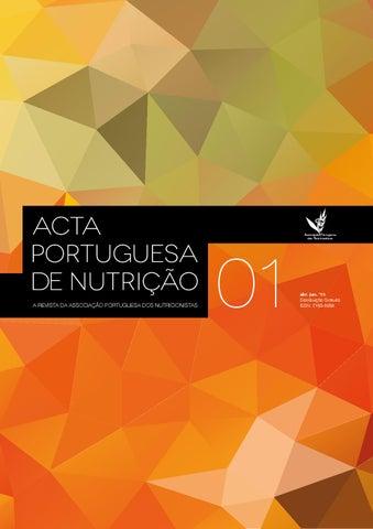 Acta portuguesa de nutrio n1 by associao portuguesa de nutrio page 1 fandeluxe Images
