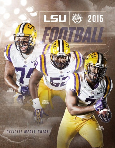 46d43074a 2015 LSU Football Media Guide by LSU Athletics - issuu