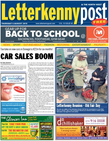 e737637991b1 Letterkenny post 06 08 15 by River Media Newspapers - issuu