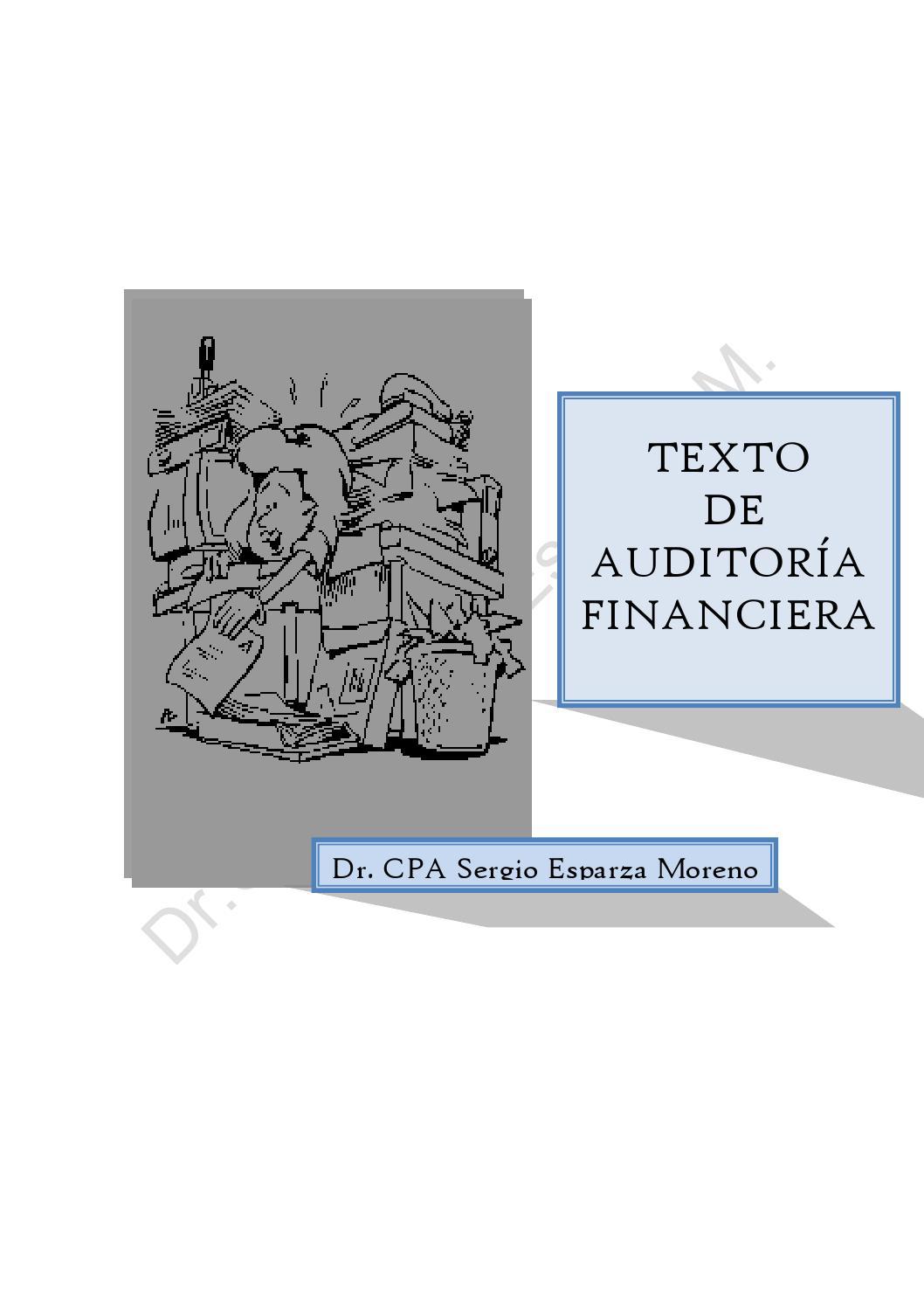 Auditoria Financiera By Wilson Velastegui Issuu
