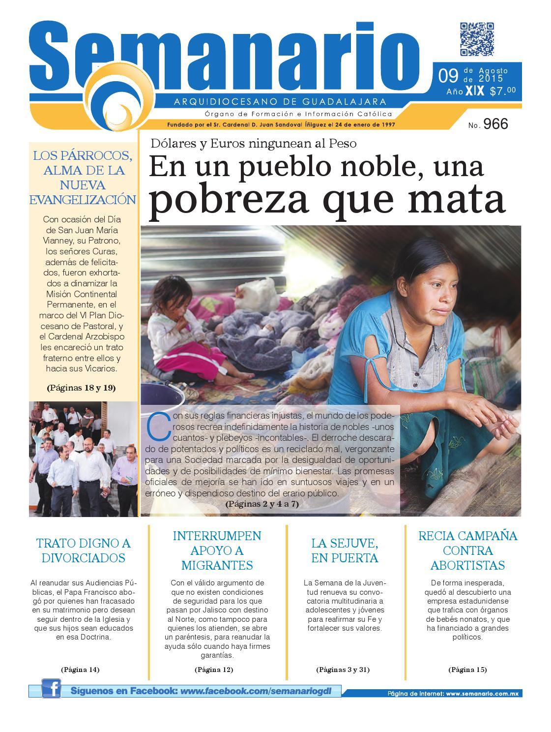 Semanario #966 by Semanario Arquidiocesano de Guadalajara - issuu