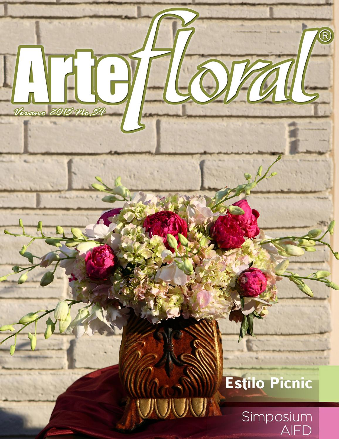 Arte Floral #54 by OASIS® Floral México - issuu