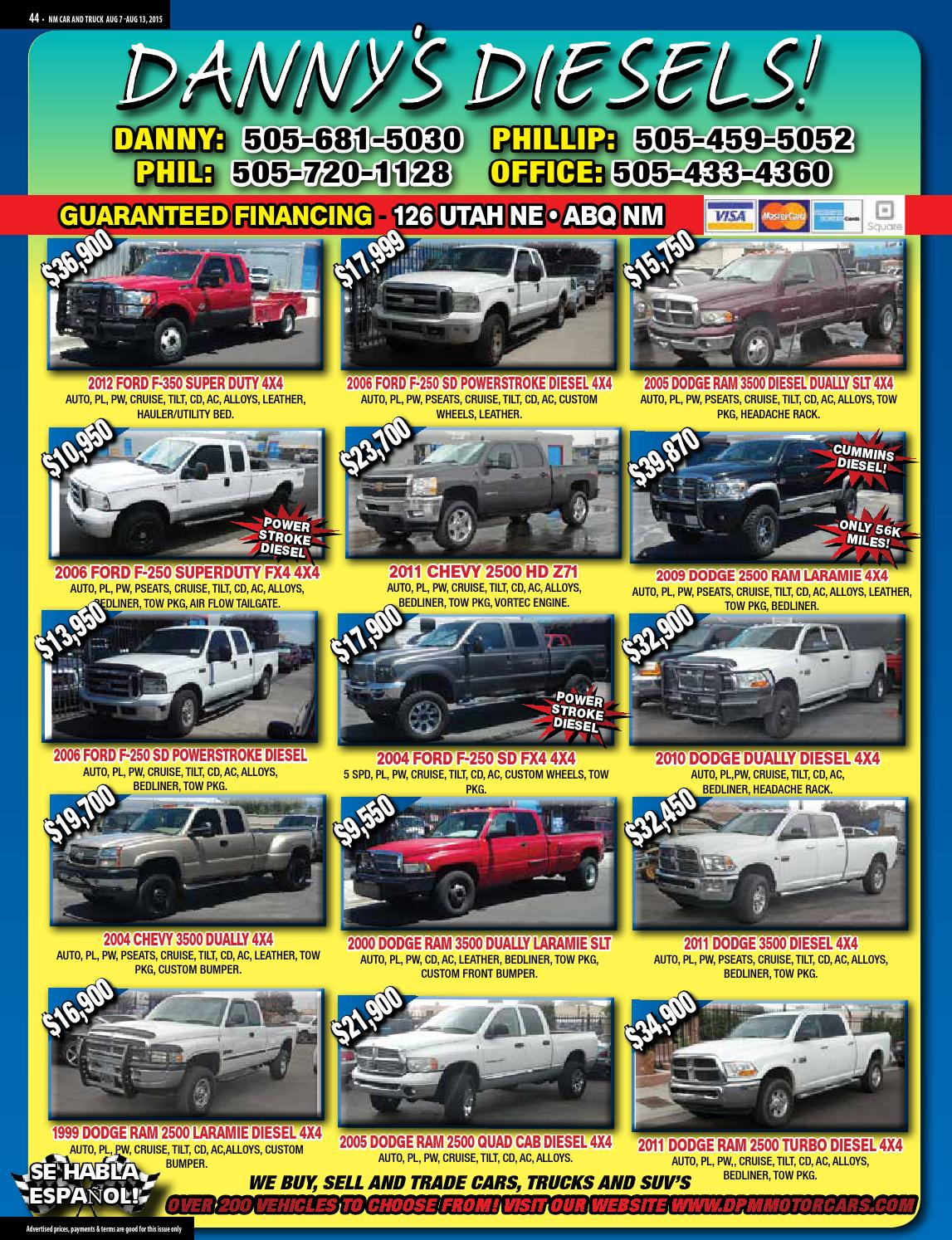 Nm Car And Truck Magazine Issue 32 By 2004 Ford F 250 Super Duty Tailgate Official Issuu