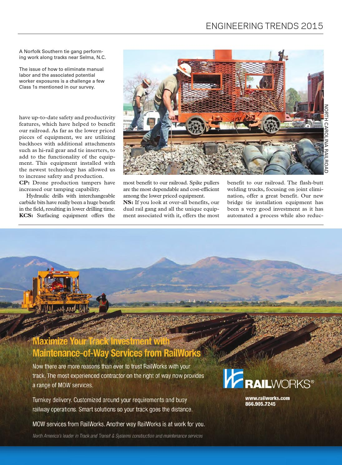 RT&S August 2015 by Railway Track & Structures - issuu