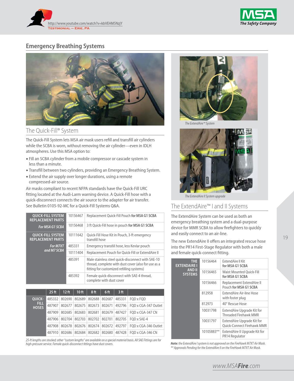 Catalogo MSA Equipo Contra Incendio 2014-2015 by Industrial