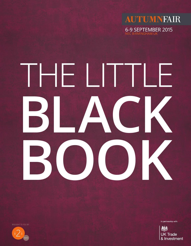 7344a55267a6 The Little Black Book by Spring   Autumn Fair - issuu