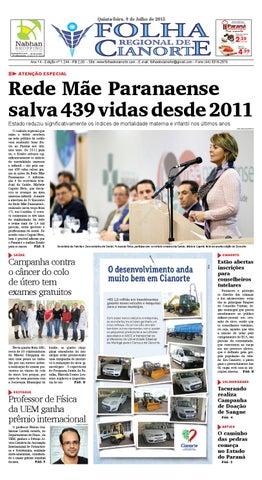 folha regional de cianorte edição 1244 by folha regional de1244 Exames Ginecologico #11
