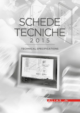 Alias Schede Tecniche 2015 By Secret Issuu