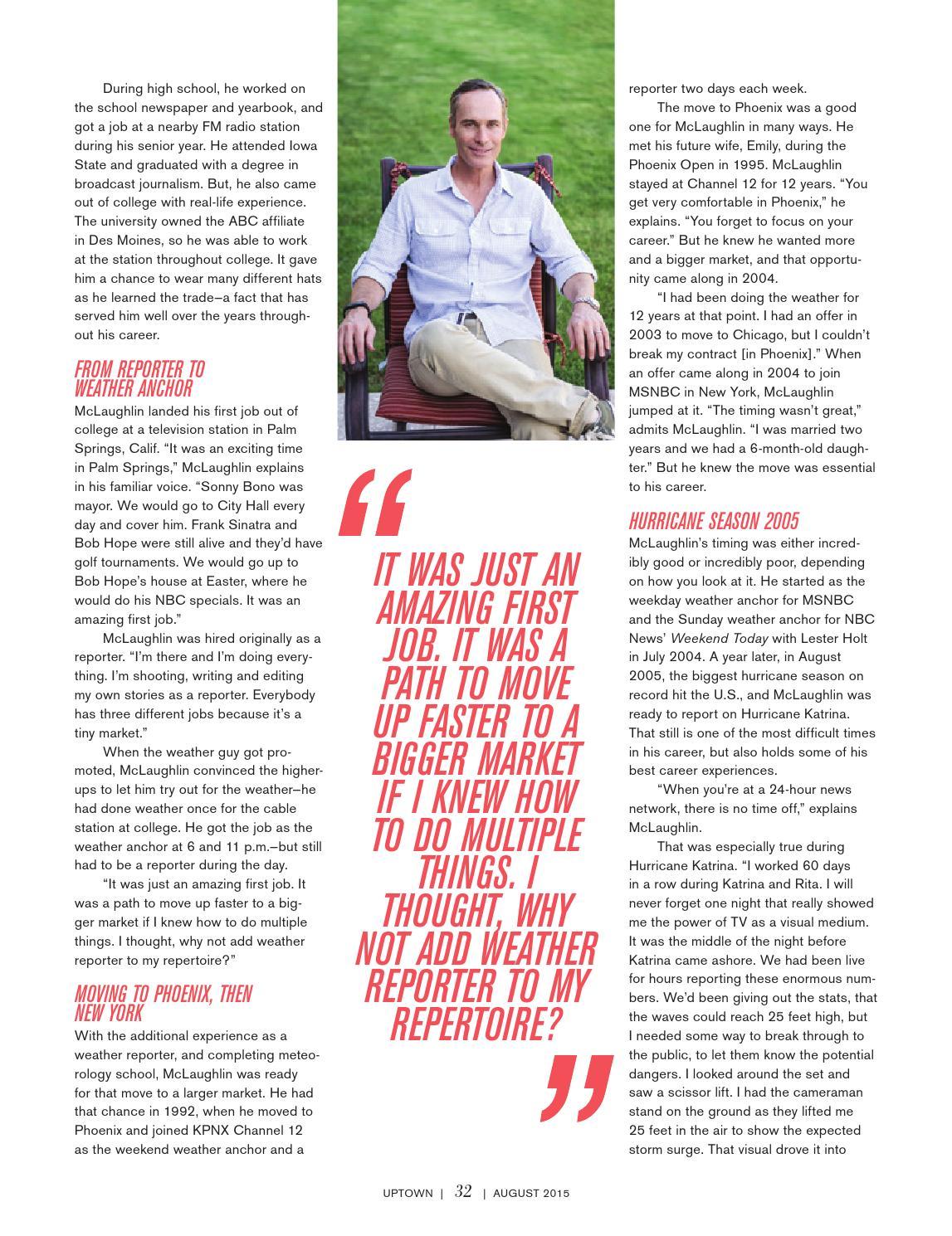 Uptown Magazine August 2015