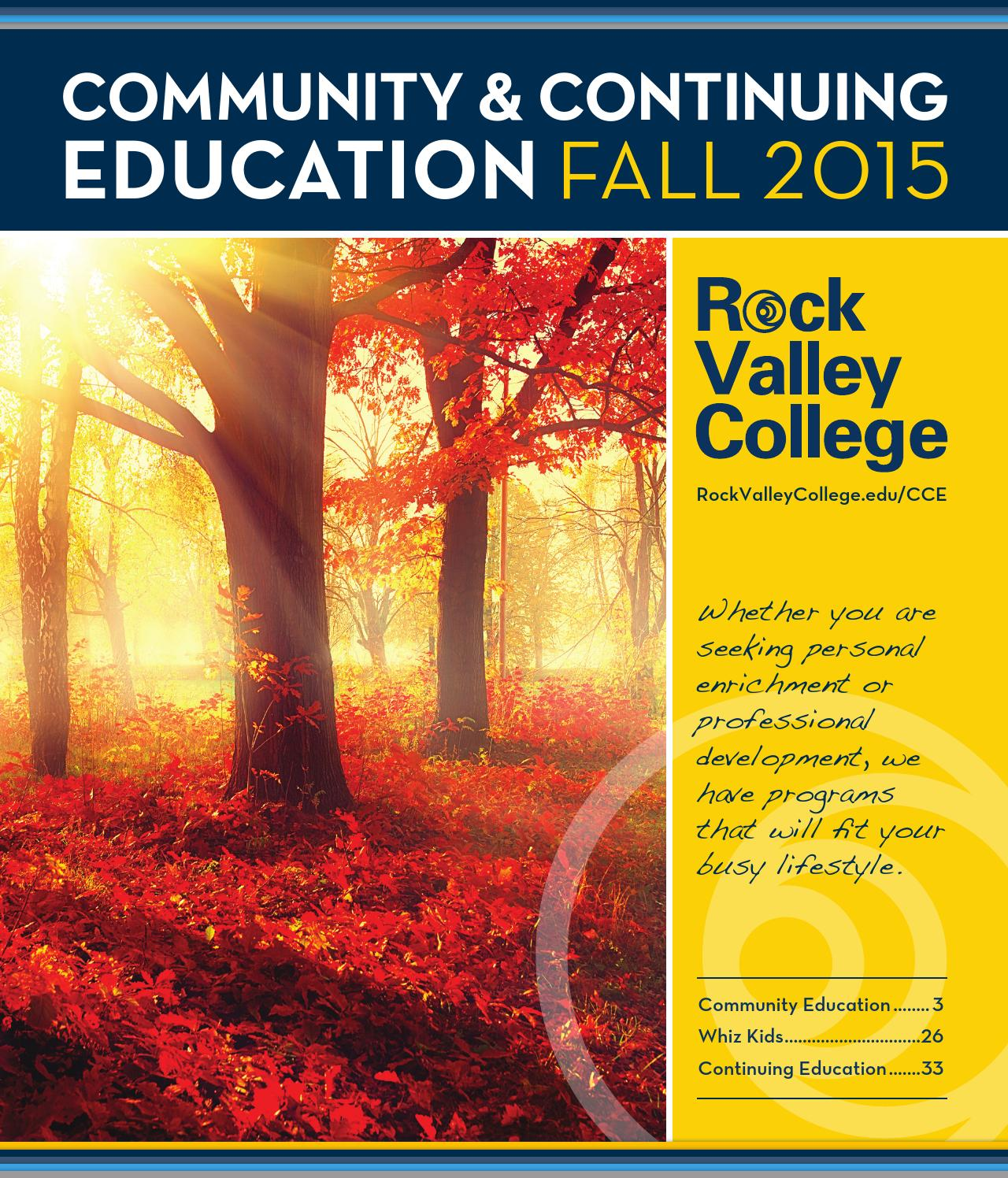 Rock Valley College Fall 2015 Community And Continuing Education Gmos Lan 012 Wiring Diagram Share The Knownledge Class Schedule By Issuu