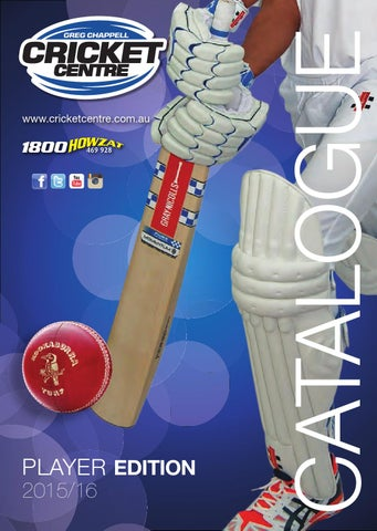 351f8cf69387 2015 16 Greg Chappell Cricket Centre Catalogue by Greg Chappell ...