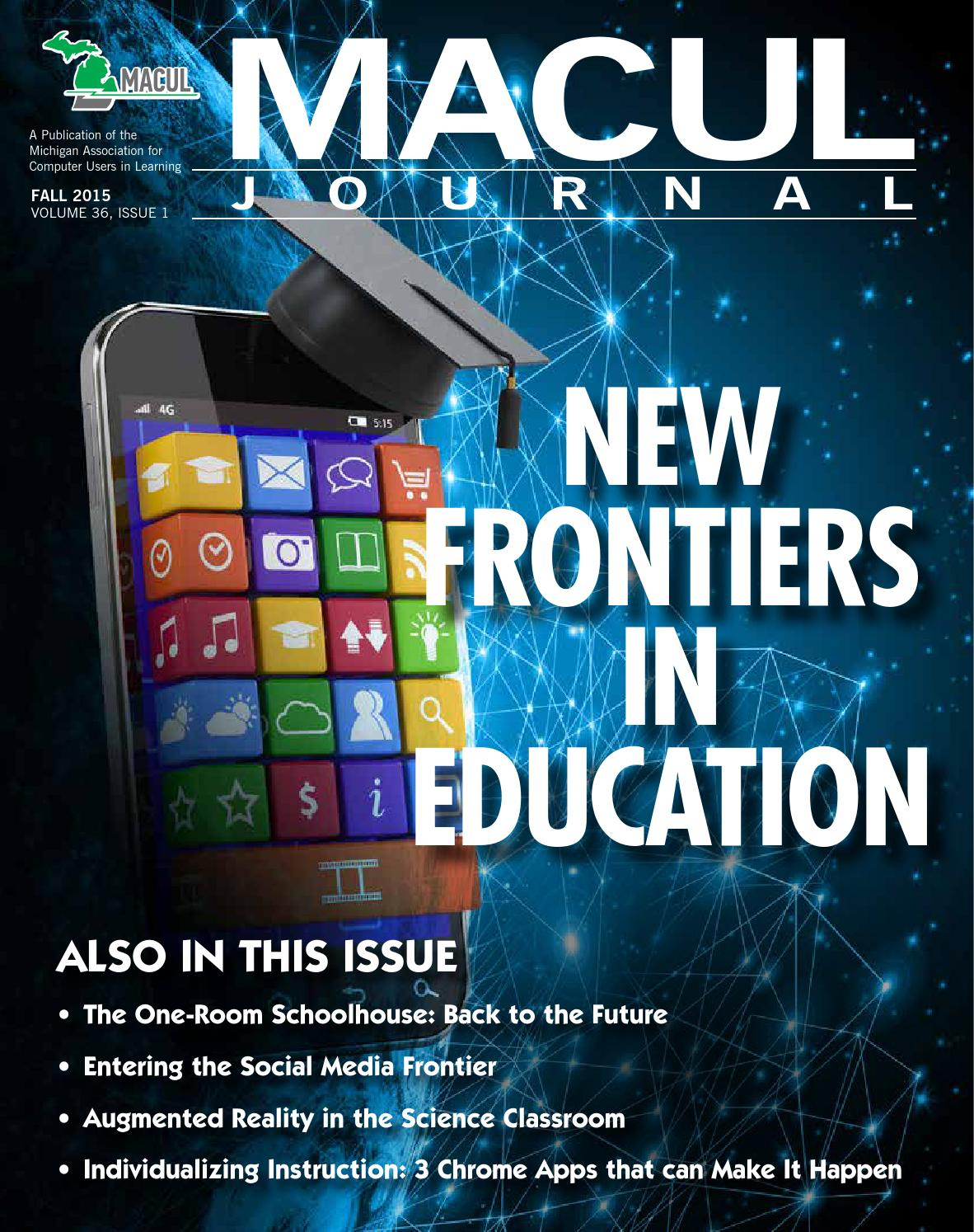 MACUL Journal Fall 2015 by MACUL - issuu