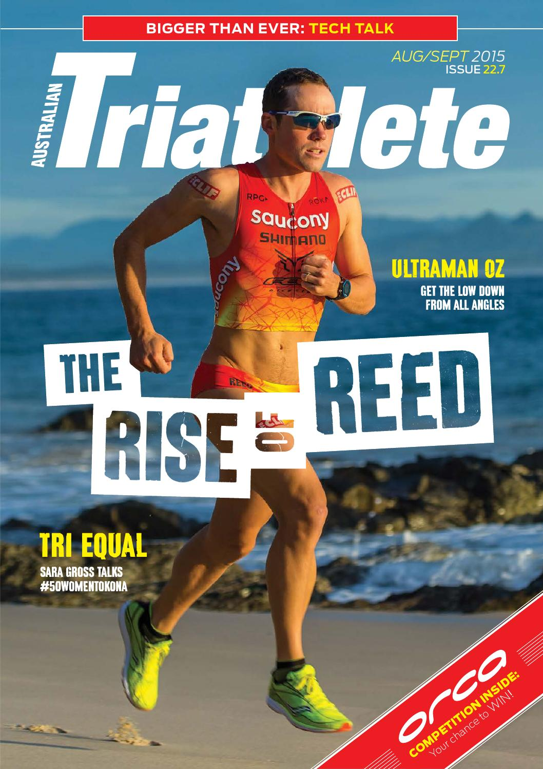d8b37fa9155 Australian Triathlete Magazine - Aug Sept 2015 by Publicity Press - issuu