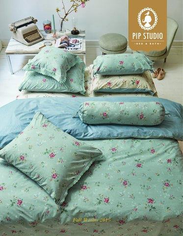 9d2de4827b0 Pip Studio Bed Bath Collection book Fall/Winter 2015 by ESSENZA HOME ...
