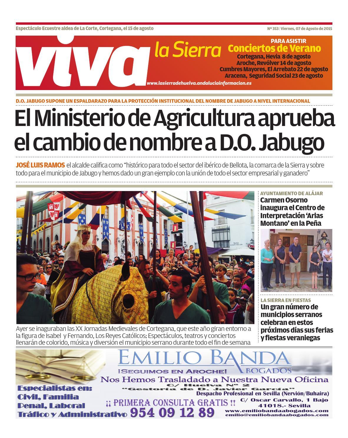 Viva la sierra 07 08 15 by grupo tms media media - issuu