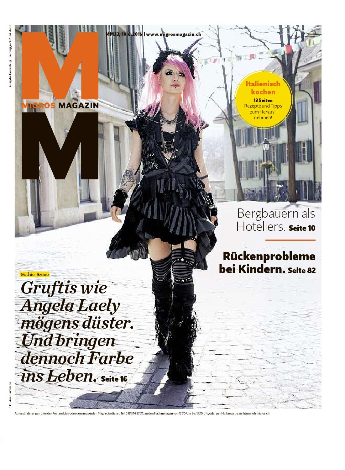 Migros magazin 33 2015 d ne by Migros-Genossenschafts-Bund - issuu