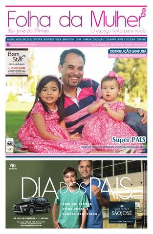 51bf2c5aec3d4 Folha da Mulher São José dos Pinhais - 42ª ed. - agosto 2015