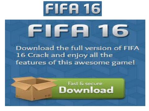 fifa 16 pc crack