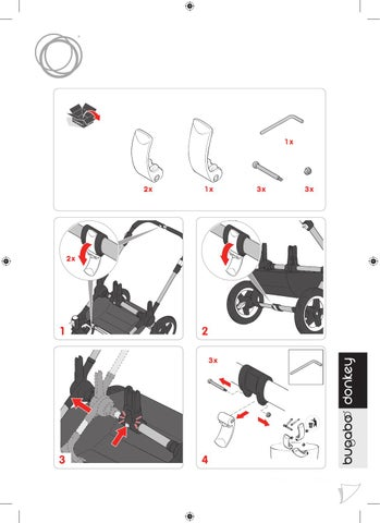 width adjustment clips by bugaboo international issuu. Black Bedroom Furniture Sets. Home Design Ideas