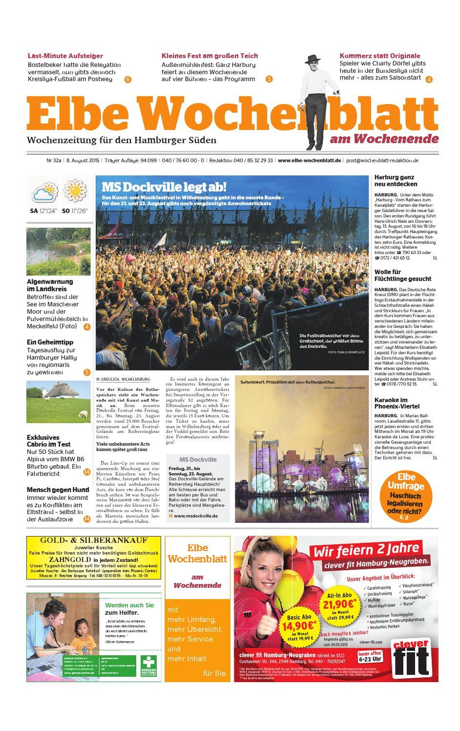 Wochenende KW32 2015 by Elbe Wochenblatt Verlagsgesellschaft